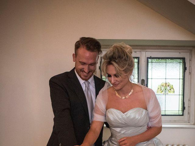 Il matrimonio di Mitchell e Chiara a Albavilla, Como 53