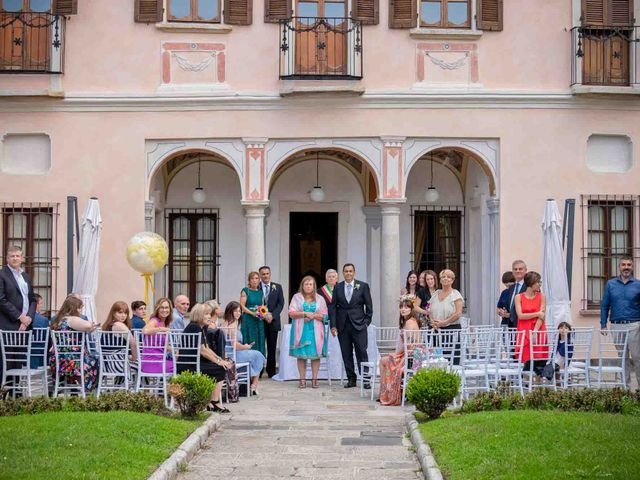 Il matrimonio di David e Giulia a Orta San Giulio, Novara 9