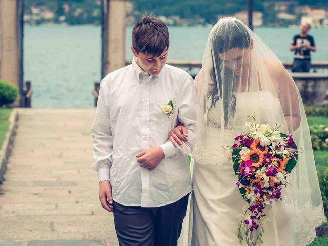 Il matrimonio di David e Giulia a Orta San Giulio, Novara 12