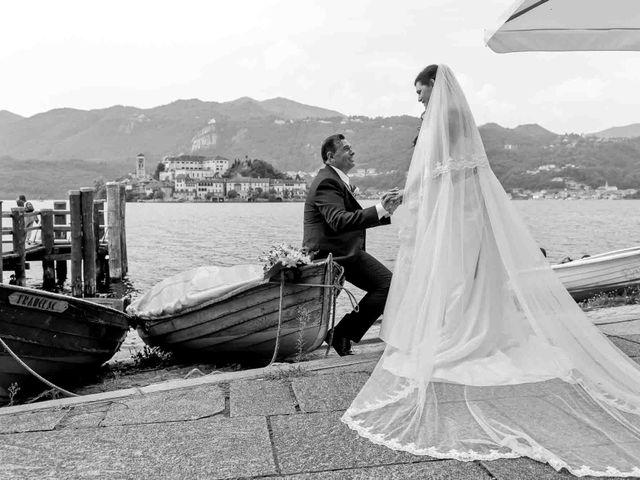 Il matrimonio di David e Giulia a Orta San Giulio, Novara 16