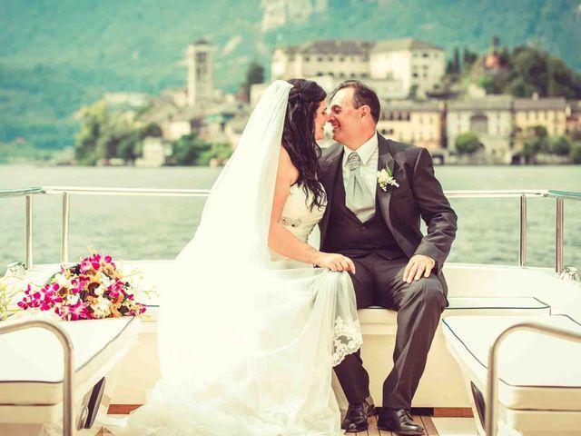 Il matrimonio di David e Giulia a Orta San Giulio, Novara 19