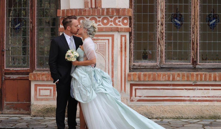 Il matrimonio di Mitchell e Chiara a Albavilla, Como