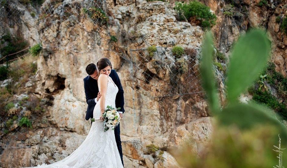 Il matrimonio di Lorenzo  e Lorena a Castellammare del Golfo, Trapani