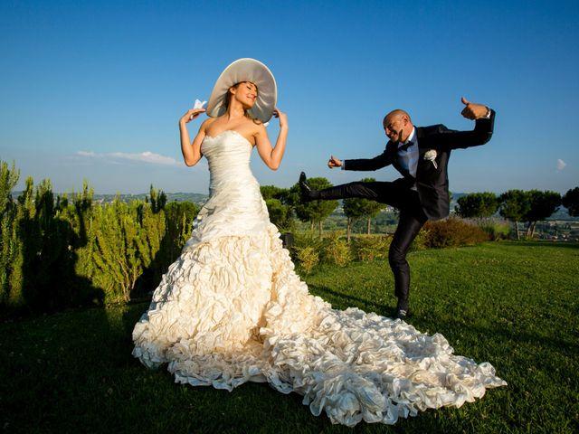 le nozze di Elisa e Christian