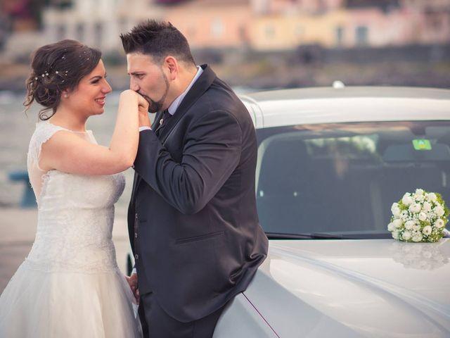 Il matrimonio di Vincenzo e Agata a Aci Sant'Antonio, Catania 1