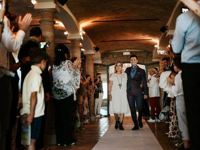 Il matrimonio di Davide e Elena a Quattro Castella, Reggio Emilia 42