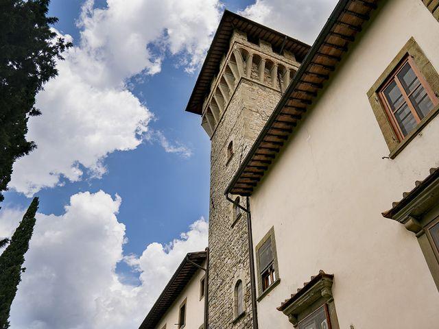 Il matrimonio di Matt e Sarah a Greve in Chianti, Firenze 4