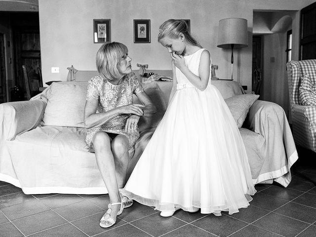 Il matrimonio di Matt e Sarah a Greve in Chianti, Firenze 12