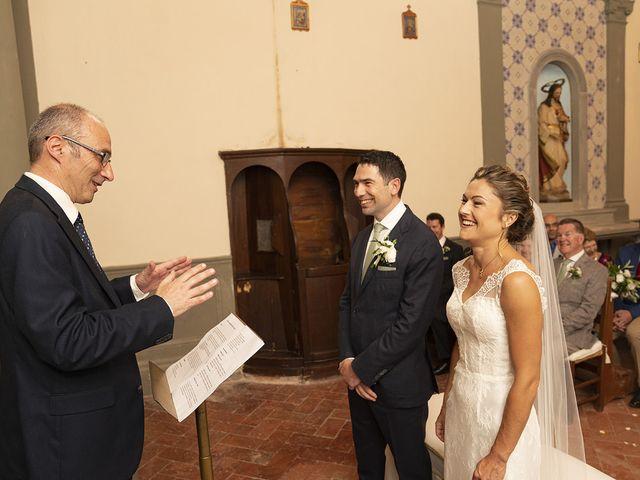 Il matrimonio di Matt e Sarah a Greve in Chianti, Firenze 17