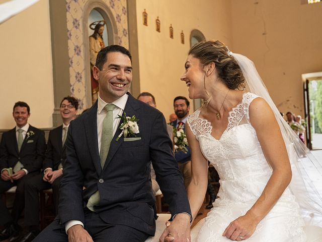 Il matrimonio di Matt e Sarah a Greve in Chianti, Firenze 18