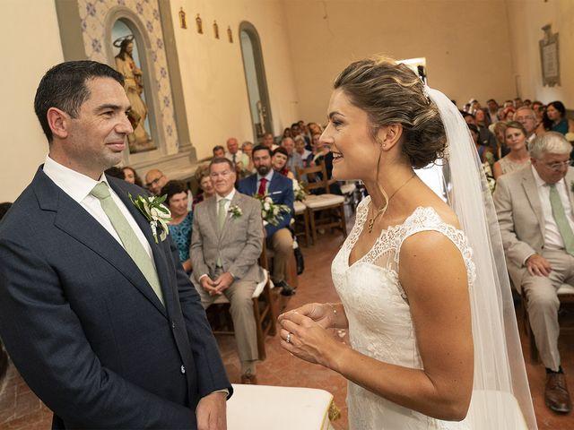 Il matrimonio di Matt e Sarah a Greve in Chianti, Firenze 19