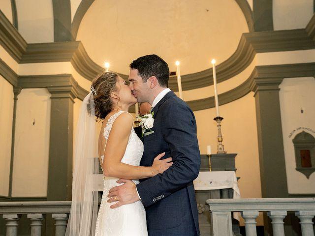 Il matrimonio di Matt e Sarah a Greve in Chianti, Firenze 20