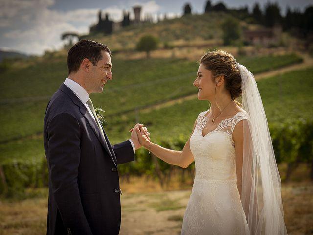 Il matrimonio di Matt e Sarah a Greve in Chianti, Firenze 21