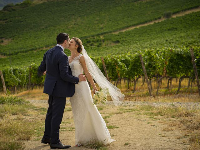 Il matrimonio di Matt e Sarah a Greve in Chianti, Firenze 22