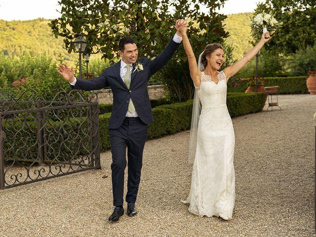 Il matrimonio di Matt e Sarah a Greve in Chianti, Firenze 23
