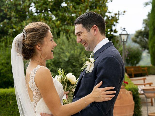 Il matrimonio di Matt e Sarah a Greve in Chianti, Firenze 25