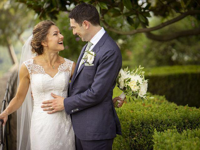 Il matrimonio di Matt e Sarah a Greve in Chianti, Firenze 27