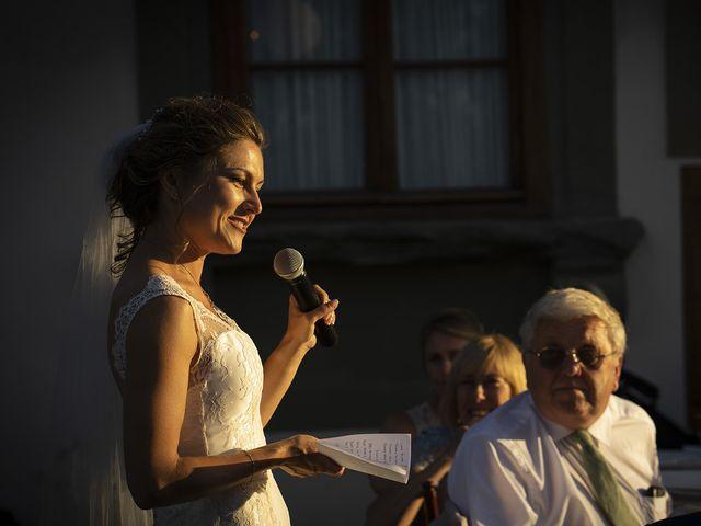 Il matrimonio di Matt e Sarah a Greve in Chianti, Firenze 38