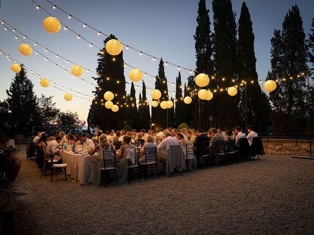 Il matrimonio di Matt e Sarah a Greve in Chianti, Firenze 40
