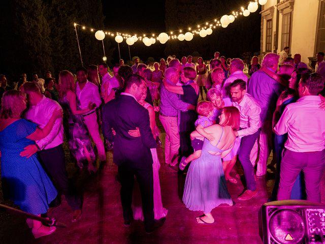 Il matrimonio di Matt e Sarah a Greve in Chianti, Firenze 42