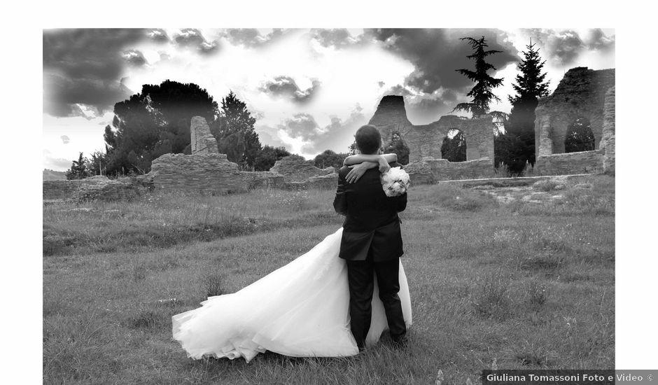 Il matrimonio di Giordano e Sara a Morrovalle, Macerata