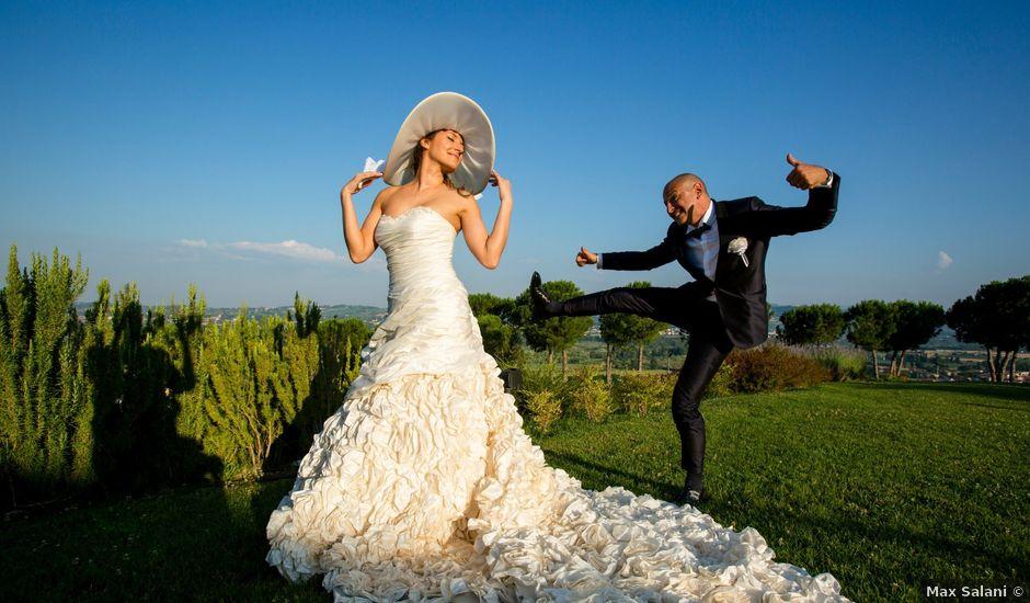 Il matrimonio di Christian e Elisa a Bertinoro, Forlì-Cesena