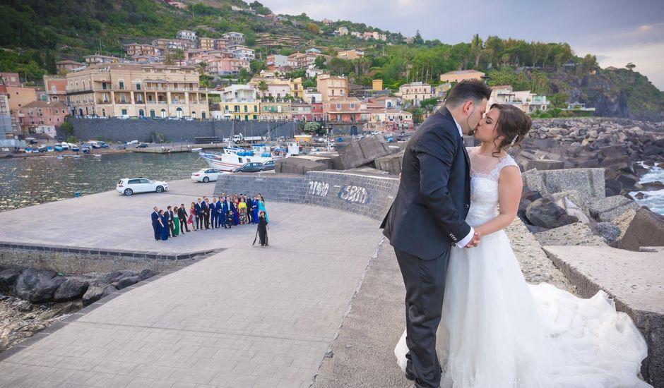 Il matrimonio di Vincenzo e Agata a Aci Sant'Antonio, Catania
