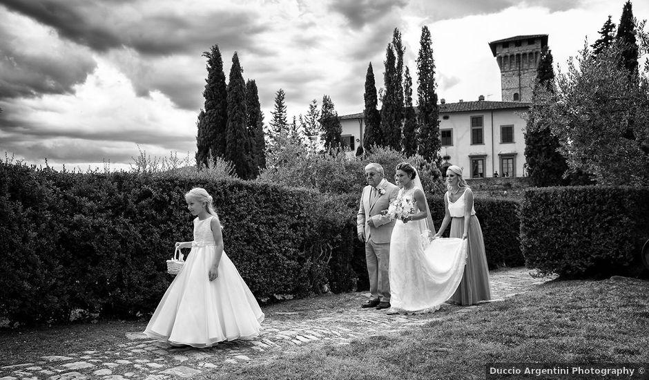 Il matrimonio di Matt e Sarah a Greve in Chianti, Firenze