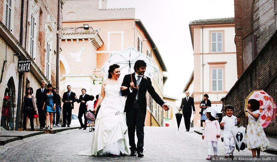 Il matrimonio di Danilo e Roberta a Fabriano, Ancona
