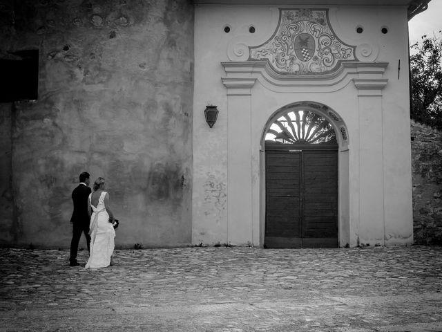 Le nozze di Faith e Federico