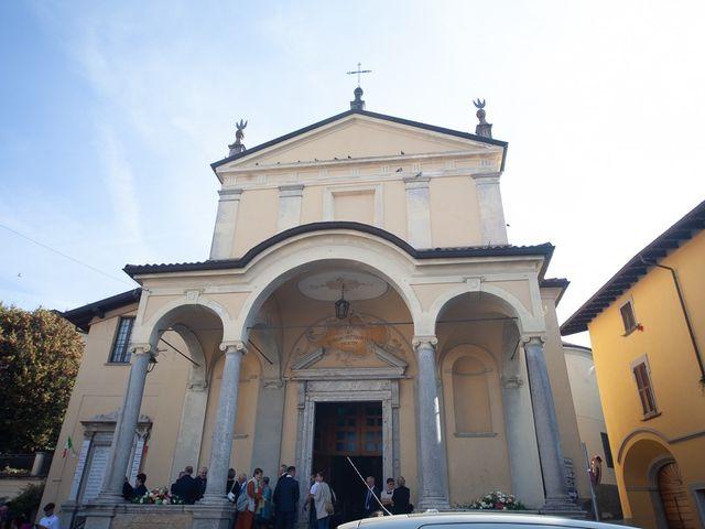 Il matrimonio di Stefano e Stefania a Besozzo, Varese 14