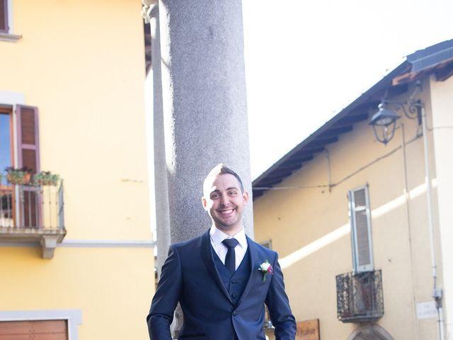 Il matrimonio di Stefano e Stefania a Besozzo, Varese 15