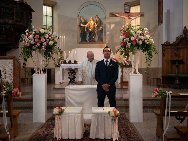 Il matrimonio di Stefano e Stefania a Besozzo, Varese 19