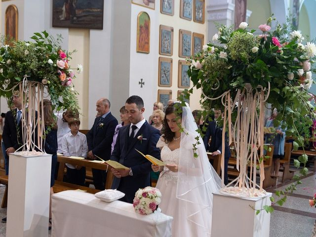 Il matrimonio di Stefano e Stefania a Besozzo, Varese 21
