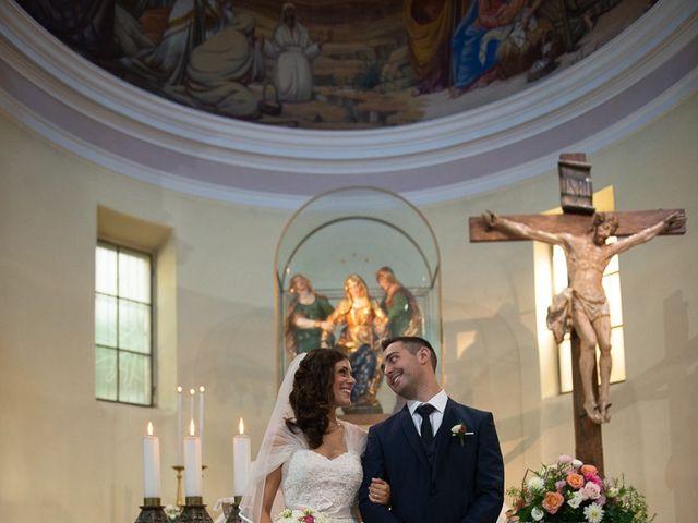 Il matrimonio di Stefano e Stefania a Besozzo, Varese 1
