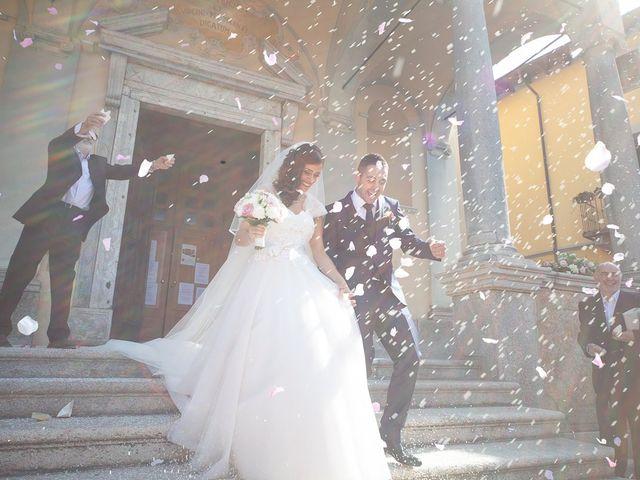 Il matrimonio di Stefano e Stefania a Besozzo, Varese 26