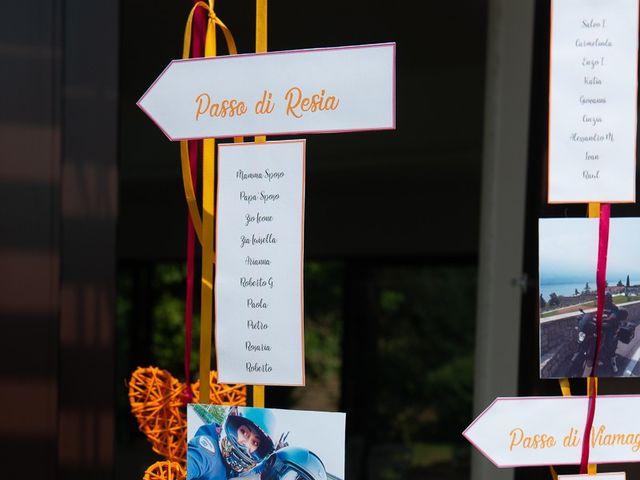 Il matrimonio di Stefano e Stefania a Besozzo, Varese 35