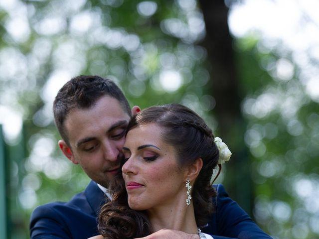 Il matrimonio di Stefano e Stefania a Besozzo, Varese 53