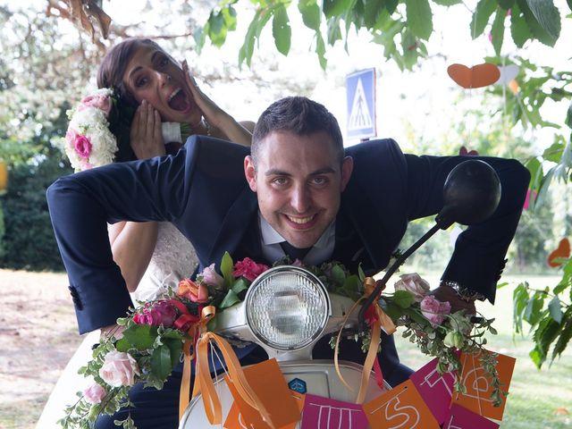 Il matrimonio di Stefano e Stefania a Besozzo, Varese 56