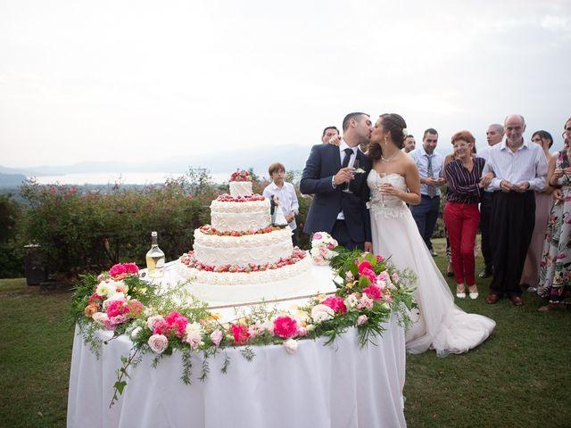 Il matrimonio di Stefano e Stefania a Besozzo, Varese 68