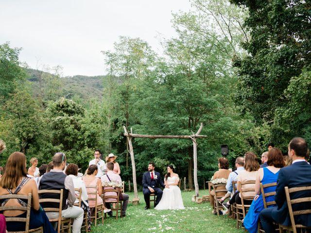 Il matrimonio di Fanny e Julien a Pontremoli, Massa Carrara 7