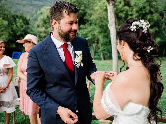 Il matrimonio di Fanny e Julien a Pontremoli, Massa Carrara 10