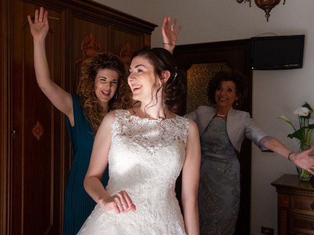 Il matrimonio di Riccardo e Erika a Castel d'Azzano, Verona 7