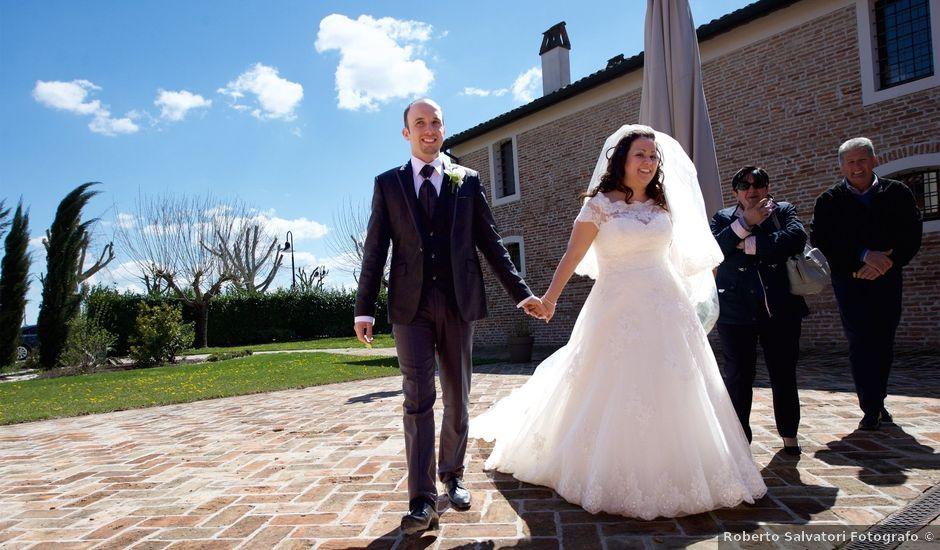 Il matrimonio di Gabrele e Jessica a Medicina, Bologna