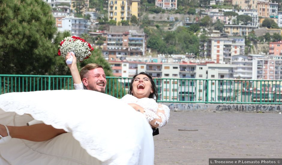 Il matrimonio di Alessandro e Nancy a Napoli, Napoli