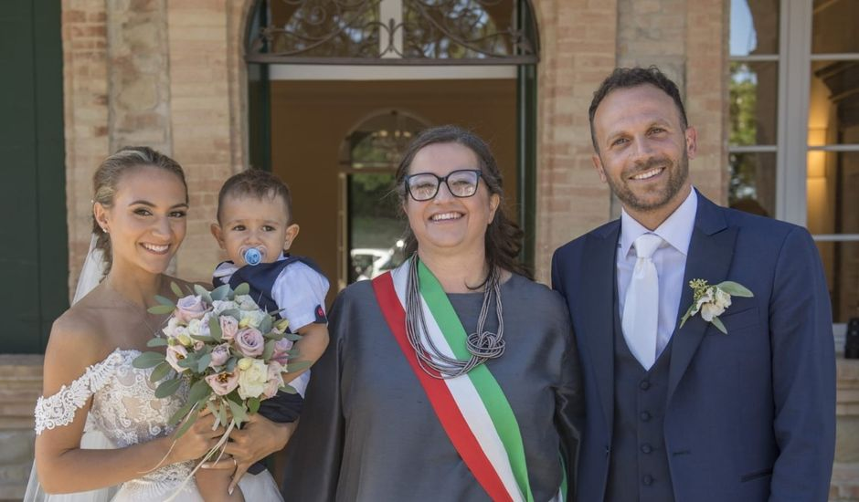 Il matrimonio di Silvia e Daniele a Tolentino, Macerata