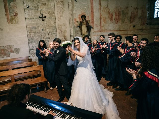 Il matrimonio di Filippo e Virginia a Torre del Lago, Lucca 19