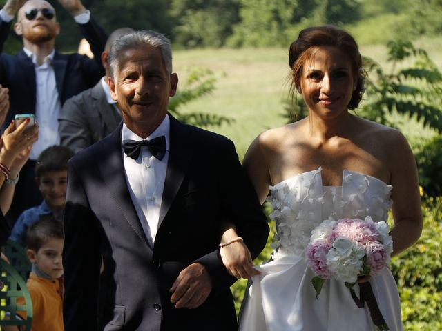 Il matrimonio di Davide e Ornella a Moncrivello, Vercelli 3
