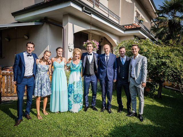 Il matrimonio di Matteo e Alessia a Brunello, Varese 16