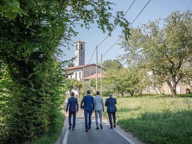 Il matrimonio di Matteo e Alessia a Brunello, Varese 17